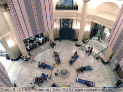 Átrio do Centro Cultural Banco do Brasil
