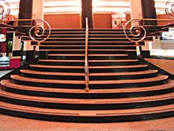 Escadaria do Cine Roxy em Copacabana